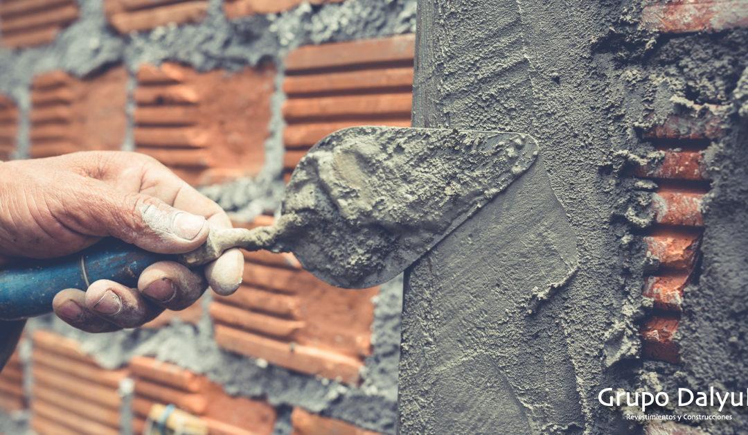 ¿Qué es el mortero monocapa? Tipos de acabado
